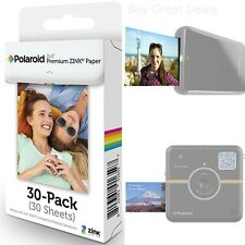 30 Sheets Polaroid Snap Z2300 2x3 Inch Polaroid ZINK Photo Paper Camera Film NEW