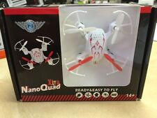 Flying Gadgets Quadcopter Nano Quad Xtra  Mini Worlds Smallest Quad Copter Drone