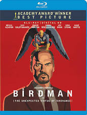 Birdman Blu Ray Disc + Digital Copy