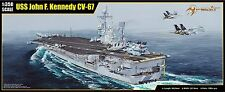 MERIT 1/350 Scale Model Kit USS John F. Kennedy CV-67 AIRCRAFT CARRIER MIL-65306