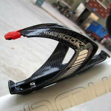 New Carbon Fiber Cycling Bicycle Water Bottle Drinks Holder Cages Rack Outdoor
