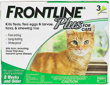 Frontline Merial Frontline Plus for Cats and Kittens Up to 8-Week and Older