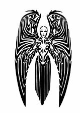 High Detail Celtic Angel Airbrush Stencil - Free UK Postage