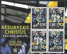 Vatican 2016 EASTER MNH S/S