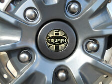TRIUMPH TIGER EXPLORER - AXLE WHEEL SPINDLE BUNG PLUG CAP XR XRX XRT UNION JACK