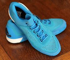 Adidas Bright Blue Men's 15 Basketball Gym Shoes Sneakers S85577 - NEW!