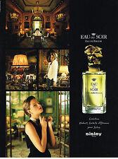 PUBLICITE  ADVERTISING  1998   EAU DU SOIR  de SISLEY  parfum