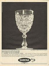 Publicité Advertising 1962  SABENA  ...