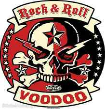 Red Rock & Roll Voodoo Sticker Decal Art Vince Ray VR57