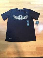 NWT Nike Dri-Fit Oregon Ducks WIN THE DAY Black T-Shirt (Men's Medium)