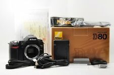 """TOP MINT Nikon D80 10.2MP  DSLR Shutter Count only """"9"""" Boxed from Japan #2067"""