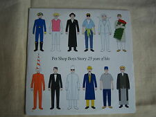 THE DAILY MAIL PROMO CD PET SHOP BOYS 25 YEARS OF HITS