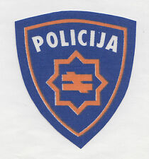 BOSNIA ARMY -   SPECIAL POLICE - war time  sleeve patch