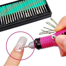 30 Nail Art Electric File Drill Bits Rerlacement Pedicure Manicure Kit Set Tools