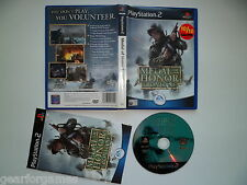 PLAYSTATION 2 PS2 PAL GAME MEDAL OF HONOR FRONTLINE TESTED IN PS2 CONSOLE