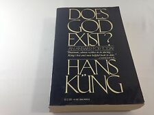 Does God Exist? : An Answer for Today by Hans Kung ~1981 Paperback~Ships FREE!