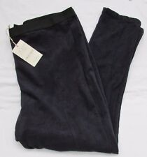 LADIES MARKS AND SPENCER BLACKBERRY SUEDE STYLE TAPERED STRETCH TROUSERS SIZE 18