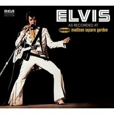 ELVIS PRESLEY - ELVIS: AS RECORDED AT MADISON SQUARE GARDEN  2 CD  LIVE  NEU