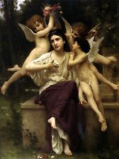 William Bouguereau Adolfo AVE DE POSTER 3110omlv