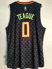 Adidas Swingman 2015-16 NBA Jersey Atlanta Hawks Jeff Teague Black Alt sz L