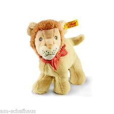 Steiff Baby Löwe Lion Leo 15cm Plüsch Kuscheltier 30°C Geschenk Neu 241000