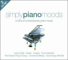 NEW Simply Piano Moods [union Square] CD (CD) Free P&H