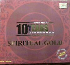 Times Music 10 Years Best Of Indian Spiritual - Original 2 Audio CD Set