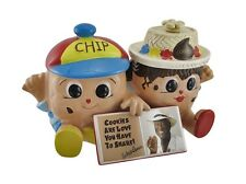Famous Amos Chip and Cookie Collectible Double Cookie Jar