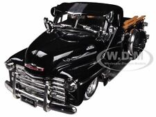 1951 CHEVROLET PICKUP TRUCK LOWRIDER BLACK 1/24 DIECAST MODEL BY JADA 96802