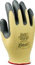 12 BEST 4560-06 Zorb-IT Ultimate Cut-Resistant Nylon Gloves Nitrile Coated XS