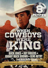 When Cowboys Were King: 8 Movie Collection New DVD