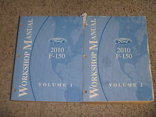 2010 Ford F150 Truck Service Repair Manual XL XLT Lariat STX FX4 4.6L 5.4L 6.2L