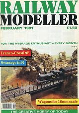 Railway Modeller Magazine - Feb 1991. Hunting in Ryedale, Highfield-on-Sea