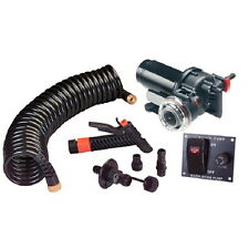 3.5 GPM Wash Down System Pump Kit with 70 PSI Automatic Cut Off for Boats