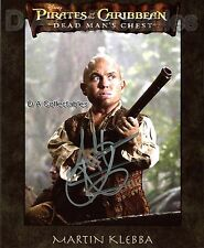MARTIN KLEBBA genuine signed 10 x8 photo - PIRATES OF THE CARIBBEAN - UACC