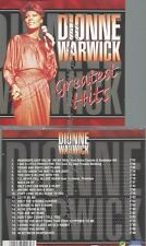 CD--DIONNE WARWICK--GREATEST HITS -20 TRACKS, EUROTREND LABEL-