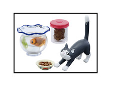 R011 Family Living Room gold fish tank cat food contain Miniature Rement #5 2016