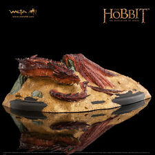 WETA The Hobbit Desolation Of Smaug: Smaug King Under The Mountain Statue NEW
