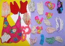 Vtg Barbie Superstar 70s 80s Doll Clothes Lot SWIM SUITS OSS 22pc Mod TNT etc