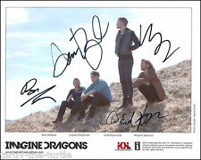 Imagine Dragons  Autograph Reprint Iron Man 3 The Hunger Games: Catching Fire