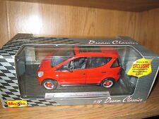 mercedes benz A class SUV diecast collectible  red  1/18 special edition