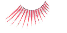 STARGAZER FALSE EYELASHES EYE LASHES #58 RED DIAMONTE FANCY DRESS