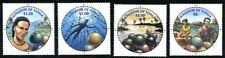 TONGA 2002 PEARLS - PEARL DIVING MINT COMPLETE SET OF 4 ROUND STAMPS - $8 VALUE!