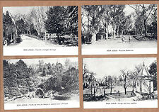 4 X BOM JESUS Braga Sanctuary. Set of 4 Old postcards PORTUGAL