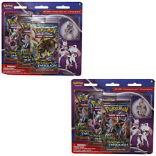 Pokemon Cards - XY Blister 3 Packs w/Pin - MEGA MEWTWO SET OF 2 (X&Y) - New