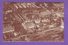 ENGLAND 1924 BRITISH EMPIRE EXHIBITION WEMBLEY LONDON FROM THE AIR POSTCARD