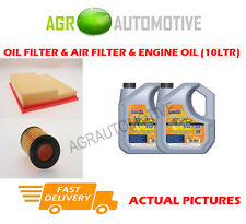 PETROL OIL AIR FILTER + LL 5W30 OIL FOR MERCEDES-BENZ C240 2.4 170 BHP 1995-00