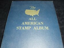 THE ALL AMERICAN STAMP ALBUM WITH 433 STAMPS BY MINKUS PUBLICATIONS FOR GIMBELS