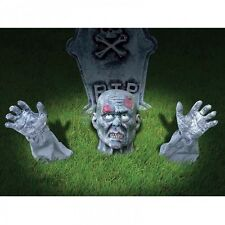 Halloween ZOMBIE GROUND BREAKER Outdoor Lawn Decoration Graveyard Accessory