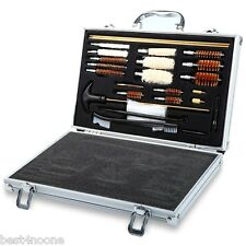 74PCS Universal Hand Gun  Cleaning Box Kit Tool Set Rifle Pistol Case Storage